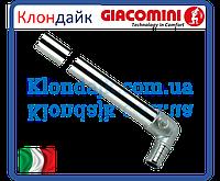 Угол с медной хромированной трубкой Giacoqest 1/2х15 L300MM