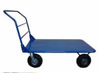 Тележка платформенная ТП-044 на пневматических колесах