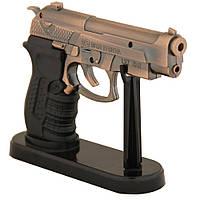 Зажигалка пистолет с лазерной указкой