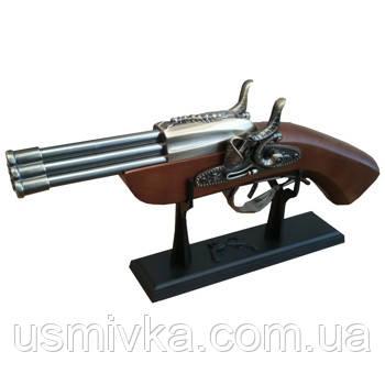 Зажигалка мушкет H20016 (D-60) (30) ZM200160