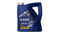 Моторное масло MANNOL CLASSIC  10W-40 API SN/CF 5л