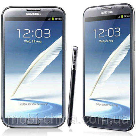 "Копия Samsung Galaxy Note II N7100 5,2"", Android,Wi-Fi, black, фото 2"