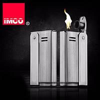 Фирменная бензиновая зажигалка imco 68000 Streamline silver