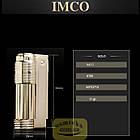 Фирменная бензиновая зажигалка imco 6700 Triplex gold, фото 3