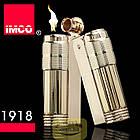 Фирменная бензиновая зажигалка imco 6700 Triplex gold, фото 5
