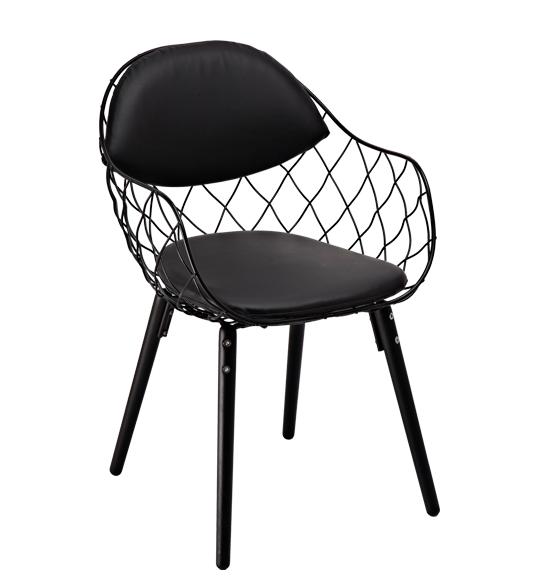"""Кресло """"Вики"""" (КЗ черный) (черный)"""