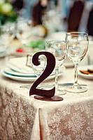 """Оформление свадебного стола"""" номерки для столов"""""""
