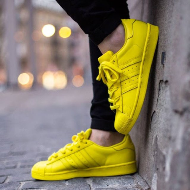 359474802e1ce3 Кроссовки Pharrell Williams x Adidas Superstar Yellow, цена 1 153 грн.,  купить в Киеве — Prom.ua (ID#323934239)