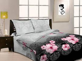"""Двуспальный комплект постельного белья 3Д """"Царица ночи"""""""