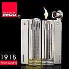 Фирменная бензиновая зажигалка imco 6600 Junior silver, фото 3