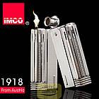 Фирменная бензиновая зажигалка imco 6600 Junior silver, фото 4