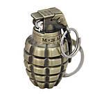 Зажигалка армейская граната маленькая ZG18593, фото 2