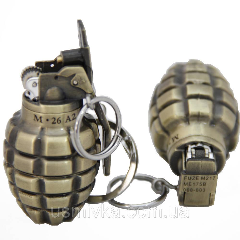 Зажигалка армейская граната маленькая ZG18593