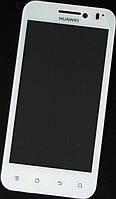 Сенсор (тач скрин) HUAWEI U8600 white (оригинал)