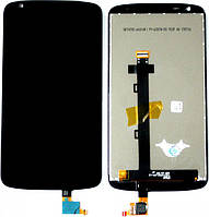 Дисплей (экран) + сенсор (тач скрин) HTC Desire 526 black (оригинал)