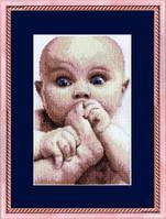 Набор для вышивки крестиком Малыш