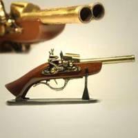 Двухствольный мушкет с зажигалкой
