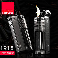 Фирменная бензиновая зажигалка imco 6700 Triplex black