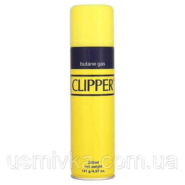 Газ для зажигалки, фирмы Clipper 250 ml