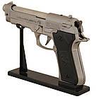 Зажигалка пистолет Беретта (большой) ZM33119, фото 2