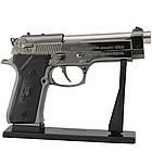Зажигалка пистолет Беретта (большой) ZM33119, фото 3