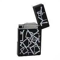 Зажигалка  для сигар, с геометрическим узором
