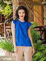 Оригинальное блуза с рукавом воланом