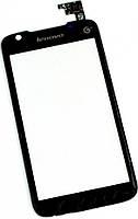 Сенсор (тач скрин) LENOVO S899T black (оригинал)