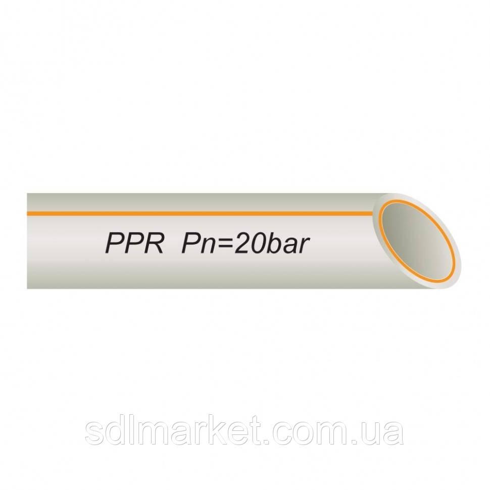 Труба полипропиленовая со стекловолокном 32 х 5,4 мм PN 20 от производителя !