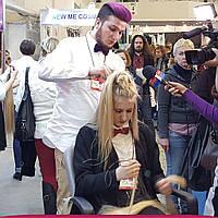 Коррекция наращивания волос на микрокольца в Киеве (холодное наращивание)