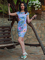 Платье классического приталенного кроя