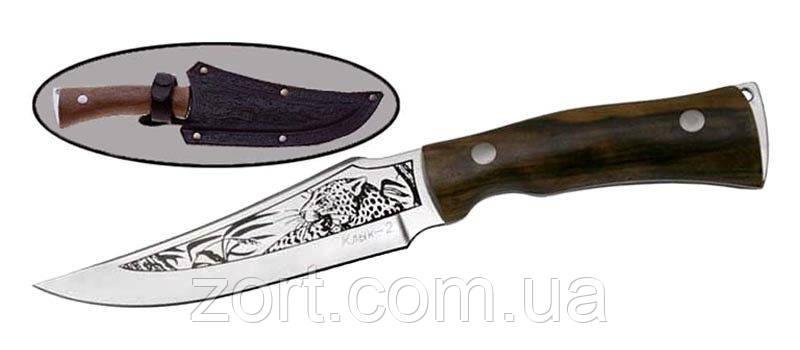 Нож с фиксированным клинком Клык-2, фото 2