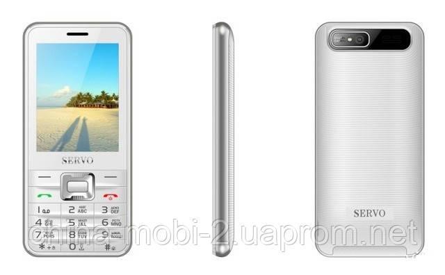 Телефон Servo V8100 -  4 sim, white