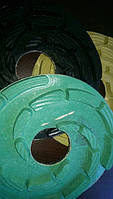 Алмазные полировочные резиновые пупырышки  Дельфин Ф250 мм. пена  для полировки габбро., Житомир