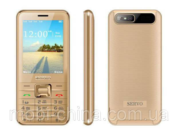 Телефон Servo V8100 -  4 sim gold