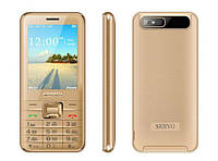 Телефон Servo V8100 -  4 sim gold, фото 1