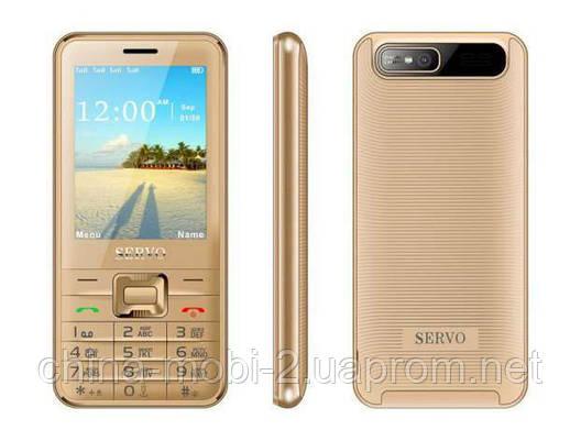 Телефон Servo V8100 -  4 sim gold, фото 2