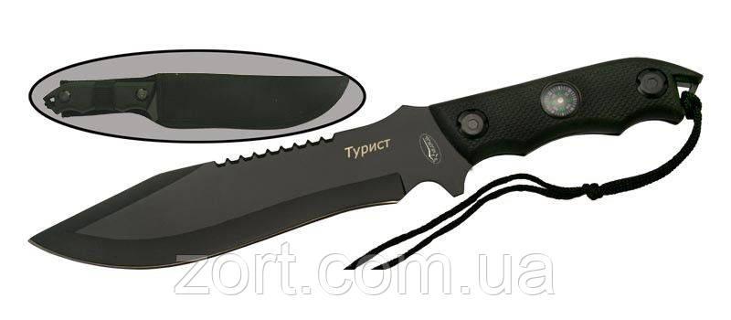 Нож с фиксированным клинком Турист, фото 2