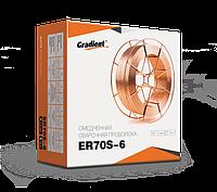 Омедненная проволока(СВ08Г2С) ER70S-6 д. 1,2 мм, кассета D270 15 кг