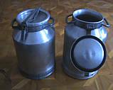 Бидон для молока алюминиевый КАЛИТВА (18,25,40 л) продам постоянно оптом и в розницу, Харьков, фото 3