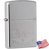 Зажигалка бензиновая Zippo 24335  ZIPPO LOGO (Логотип Zippo)