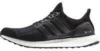 Мужские кроссовки Adidas Ultra Boost (адидас ультра буст) черные