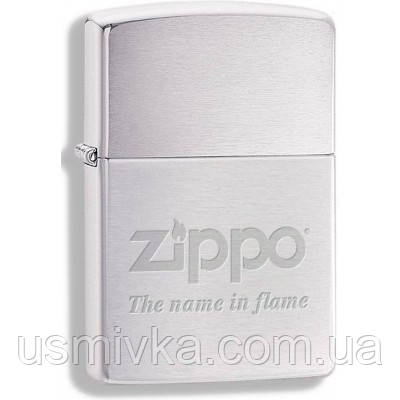 Зажигалка бензиновая Zippo 290609 ZIPPO THE NAME IN FLAME.