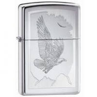 Бензиновая зажигалка Zippo 21069 BIRDS OF PREY (Орел).
