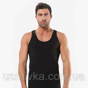 Спортивная мужская майка черная кулика OZTAS. MO17911032