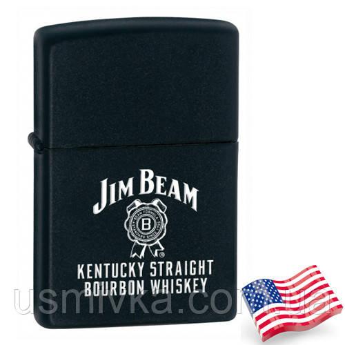 Бензиновая зажигалка Zippo 28072 JIM BEAM (Джим Бим).