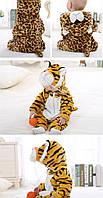"""Детский велюровый костюм с ушкам """"Тигр"""", фото 1"""