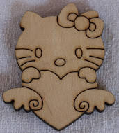 "Заготовка из фанеры ""Hello Kitty 02"""