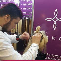 Микрокапсульное Наращивание Волос в Киеве 200 капсул