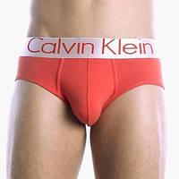 Мужские трусы брифы Calvin Klein steel, красные